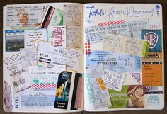 Here is a little peak inside my Journal! These are some specific pages that really try to capture events that haveoccurredin ...