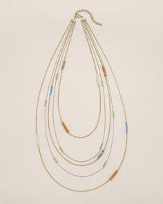 Chico's Evie Multi-Strand Necklace #chicos