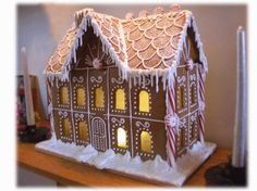 Gingerbread House How-To's - Goodies By Anna. Tutorial with some helpful tips