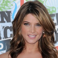 Hair color ideas | Neutral brown with highlights