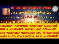 LIVE & GRATIS – Vollmond Horoskop & Meditation – 9. November Horoskope http://sternenstaubastrologie.com/gratis-live-9november-horoskope
