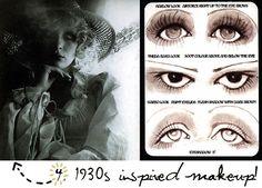 '30s makeup inspo