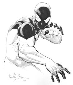 Scarlet Spider (Kaine) by Reilly Brown