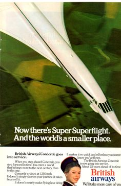 "Concorde: ""Supersonic Flight - Making The World a Smaller Place!"""