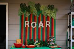 Dinosaur Birthday | Dinosaur Party | Katie Britt Photography | Dinosaur Birthday Party | Roar