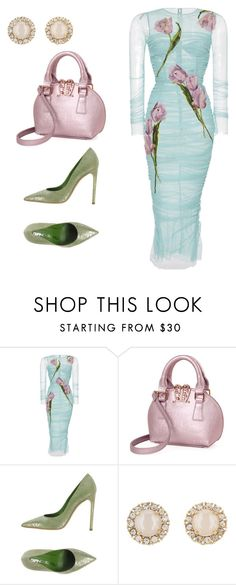 """""""Untitled #381"""" by missshannicole ❤ liked on Polyvore featuring Dolce&Gabbana, Giancarlo Paoli and Kate Spade"""
