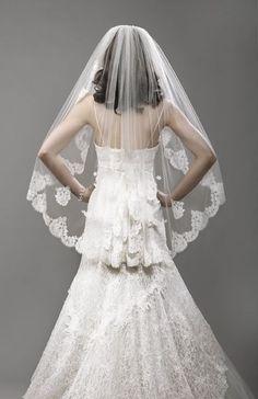 Coiffure mariage : mantilla