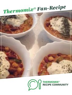 Hearty Vegetable Chilli by Sarah Moran - ThermoSisters. A Thermomix <sup>®</sup> recipe in the category Main dishes - vegetarian on www.recipecommunity.com.au, the Thermomix <sup>®</sup> Community.