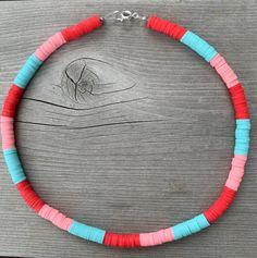 Beaded Jewelry, Beaded Necklace, Beaded Bracelets, Unique Jewelry, Seed Bead Patterns, Beading Patterns, Colar Pandora, Chocker, Bubblegum Pink