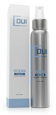 Ocean Facial Toner by COUI Skincare  Natural Ingredients Alcohol Free with Rose Water  Sea Kelp  Witch Hazel  Aloe Vera  Minimize Pores  Refresh Skin  Tone and Tighten ** You can get additional details at the image link.