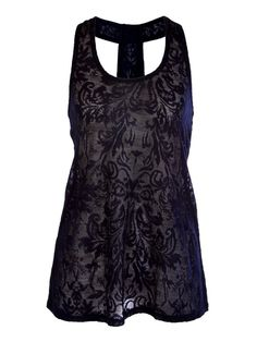 Jacquard Racerback Tank - Fashion Tops - Tops   -Very very cute....I like!!!