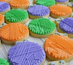 385 Likes, 2 Comments - Veronica McMaster Roll Cookies, Cut Out Cookies, Iced Cookies, Royal Icing Cookies, Sugar Cookies, Royal Icing Decorations, Dessert Decoration, Purple Cookies, Biscotti Cookies