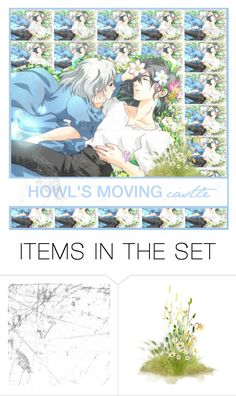 """Howl's moving castle"" by nickianna ❤ liked on Polyvore featuring art, anime and icons"