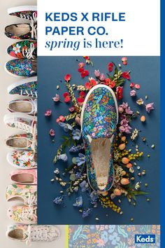 Keds Floral Shoes, Keds x Rifle Paper Co. Crazy Shoes, Me Too Shoes, Keds, Basic Outfits, Cute Outfits, Cool Style, My Style, Country Style, French Country