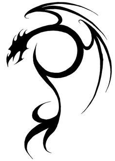 Dragon Tattoo no. 2 by Milo-Wildcat.deviantart.com on @deviantART