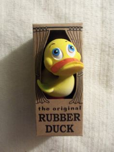 The Original Rubber Duck Collectible Toy-NIB
