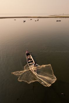 Fishing, Amarapura