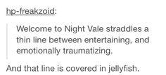 Perfect description of Night Vale