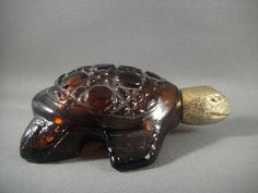 Treasure Turtle Vintage Avon Cologne Decanter. 4.50, via Etsy.