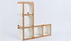 meuble cube modulable par Fabulem