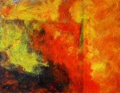 Perfect Storm Abstract Painting by Nancy Merkle