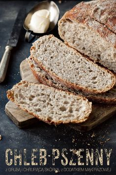 Home Bakery, Polish Recipes, Polish Food, Bread Rolls, Freshly Baked, Mini Cakes, Bread Baking, Food Inspiration, Banana Bread