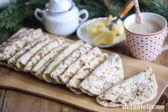 Potetmoslomper   Det søte liv Food And Drink, Bread, Cheese, Baking, Cake, Baking Soda, Brot, Bakken, Kuchen