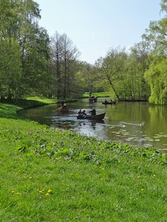 Rudervergnügen im Bürgerpark