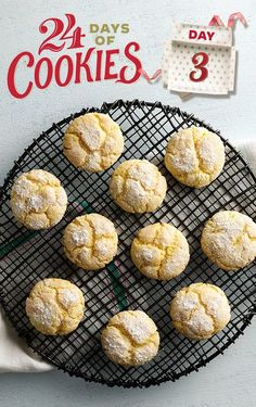 """Betty's yellow cake mix makes these gooey, melt-in-your-mouth cookies super simple and irresistible. All you need is five easy ingredients and 15 minutes of prep time! Betty member JanGolden says, """"I usually make a double batch because they disappear so quickly—they literally melt in your mouth!"""""""