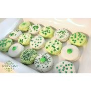 Chocolate Dipped Oreo's!!!  #St.Patrick's Day #Desserts