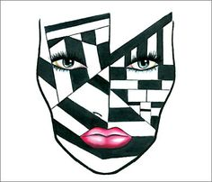 Addicted To Lipstick: Mac Halloween Face Charts