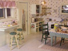 1940's kitchen by T. Vanterpool