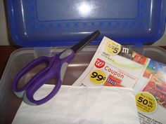 place junk mail scrap paper in a pencil box with scissors. Children can cut, cut, cut! Use craft scissors for more fun. Could be a nice quiet time activity for those children who never take naps!
