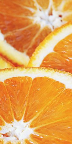 Close up, orange slices, fruits, wallpaper