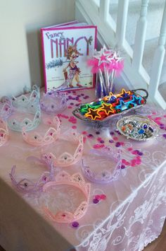 Fancy Nancy Party Dress Up Wands, Sunglasses, Rings, Tiaras