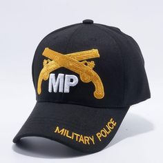 MI-752 Military Police Military Caps Wholesale [Black]