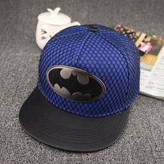 8ceb39e204d7d 2017 New Fashion Summer Brand Batman Baseball Cap Hat For Men Women Casual  Bone Hip Hop Snapback Caps Sun Hats