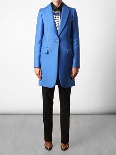 Stella McCartney, Tailored wool crombie coat