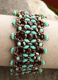 Unique Bracelet by the talented Vezsuzsi - Love it!