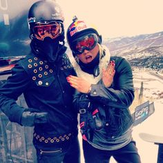 Lemondée Gillespie Fuller getting some style tips from Shaun White at the Winter XGames Shaun White, Autumn Winter Fashion, Autumn Fashion, Prays The Lord, Snowboarding Style, Sports Figures, Snow Scenes, Pinterest Photos, Olympians