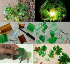 30 Mind-Blowing Ways To Upcycle Plastic Bottles At Home And The Office While manmade plastics have greatly expanded technological and consumer goods, it is undeniable that society throw away too much plastic. Reuse Plastic Bottles, Plastic Bottle Flowers, Plastic Bottle Crafts, Plastic Art, Recycled Bottles, Empty Bottles, Soda Bottles, Upcycled Crafts, Upcycled Home Decor