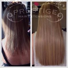 24 weeks after first installation prestige keratin bonded hair recent work done at our stockportmanchester salons double drawn keratin bonded hair extensions the pmusecretfo Images