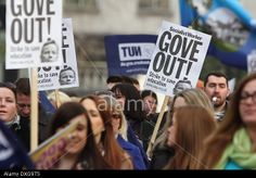 Liverpool, UK. 26th March 2014. Hundreds of teachers march in Liverpool as part of national strike action by the National Union of Teachers. © Christopher Middleton/Alamy Live News