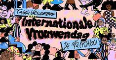 """Nastia Cistakova on Instagram: """"Ik maakte illustraties in opdracht van @tivolivredenburg voor de internationale vrouwendag talkshow, maandag 8 maart om 9 uur. En zoals…"""" Comic Books, Instagram, Cartoons, Comics, Comic Book, Graphic Novels, Comic"""