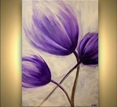 Image result for contemporary abstract flower painters