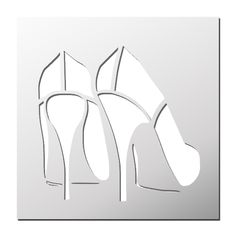 Stencil Heels Source by frenchimmo Stencil Patterns, Stencil Art, Stencil Designs, Silhouette Portrait, Silhouette Art, Silhouettes Clothing, Arc Notebook, Pin Up Posters, Large Stencils