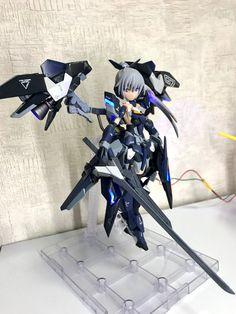 Anime Figures, Action Figures, Manga Art, Anime Art, Frame Arms Girl, Cool Robots, Robot Girl, Kakashi Sensei, Girls Characters