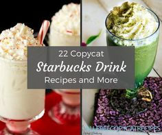 22 Copycat Starbucks Drink Recipes and More