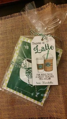 Lucky7s Studio: Free Thanks a Latte Printable, Teacher Appreciation, Gift Tags, Stationary