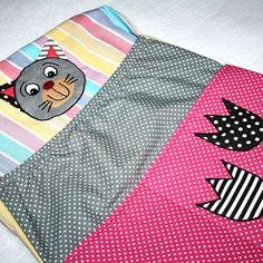Kapsář do školky s kočičkou Picnic Blanket, Outdoor Blanket, Children, Picnic Quilt